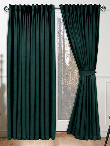 Velvet Teal Curtains - rich, sumptuous and luxurious to boot, these ...
