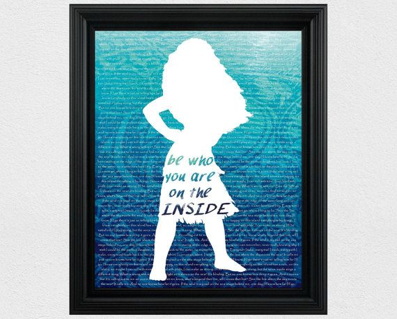 Eye Catching Disney Moana Printable Art Pictures And Wall Decor