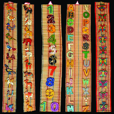 Bamboo Mat Wall Hangings More Designs Also Available Bamboo
