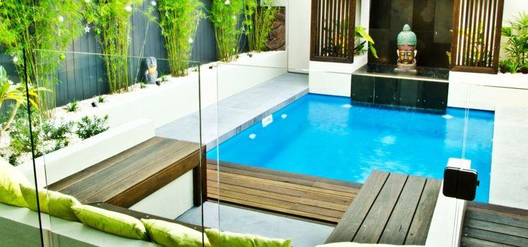 Piscinas peque as para terrazas y patios modernos for Piletas de natacion para espacios reducidos