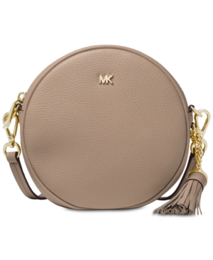 1ab13e1523ad Michael Michael Kors Medium Circle Canteen Crossbody - Brown