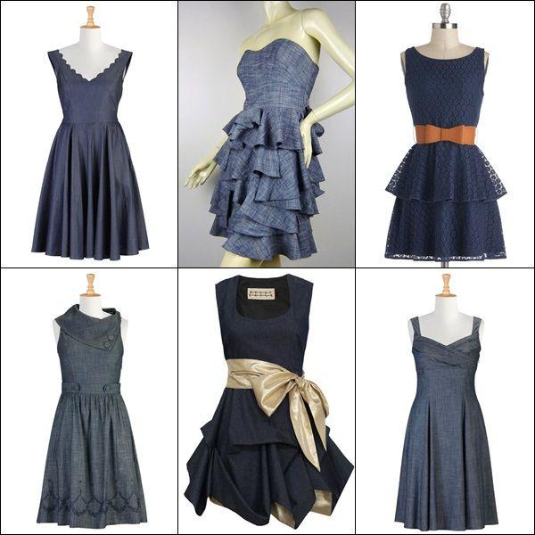 Denim Wedding Gown: Wedding Guest Attire: What To Wear To A Wedding (Part 1