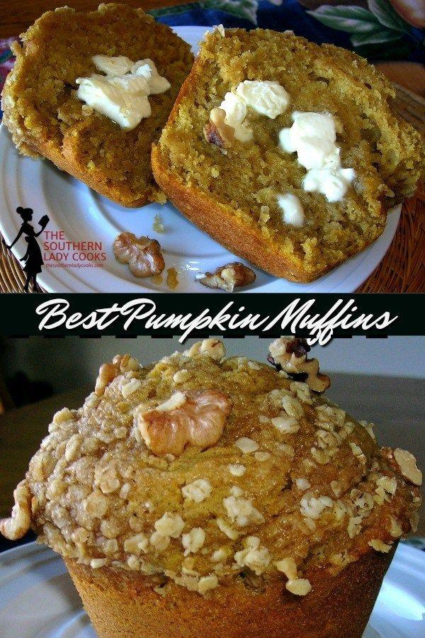 BEST PUMPKIN MUFFINS #pumpkinmuffins