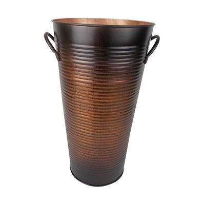 Craft Outlet Vintage Tin Pot Planter