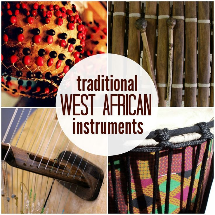 Marie's Pastiche: Traditional West African Instruments