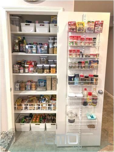 Nov 27, 2019 – #door #Elfa #Pantry …