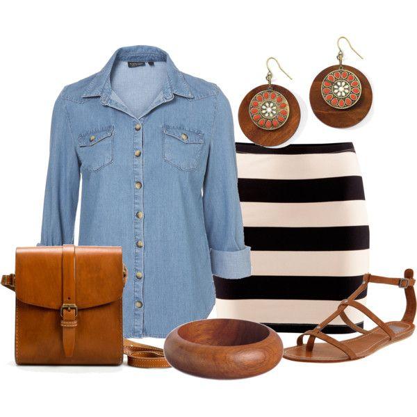 """Estilo Casual"" by outfits-de-moda2 on Polyvore"