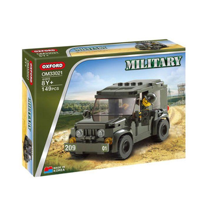 Oxford Brick Military Letona Brick Blocks Toy Set Kit Car New BM33021 149PCS #Oxford