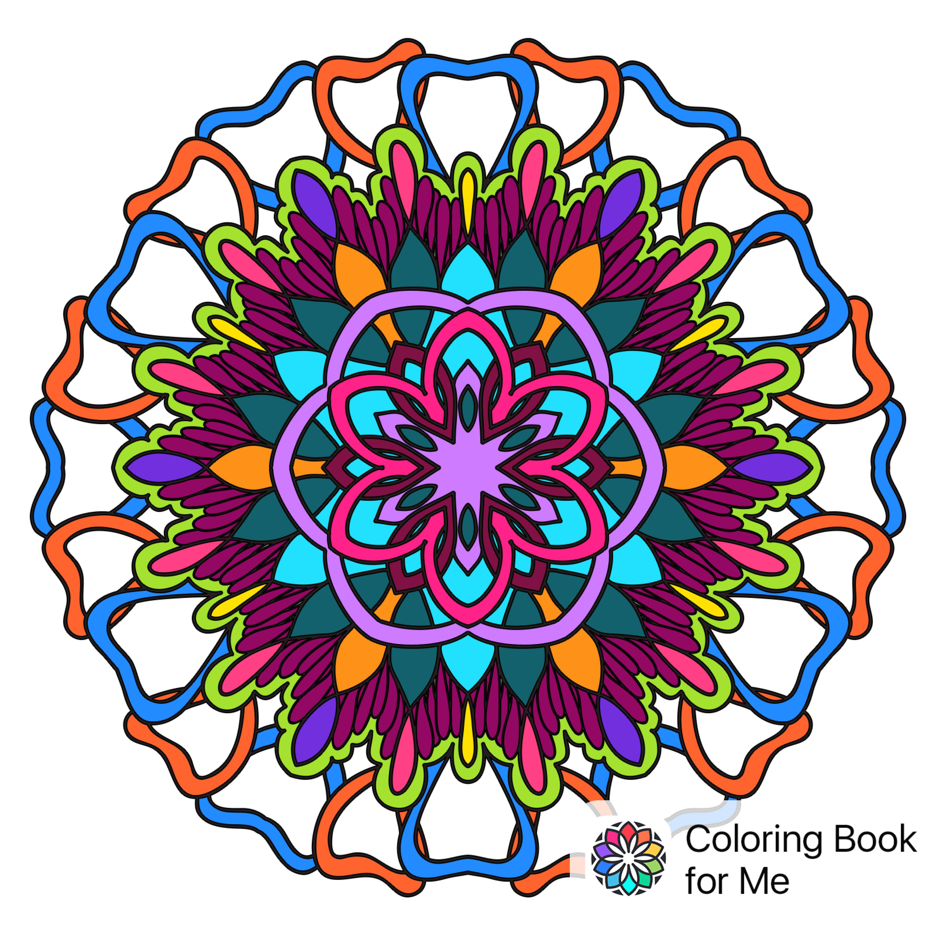 Coloring book for me full - Colored With Coloring Book For Me