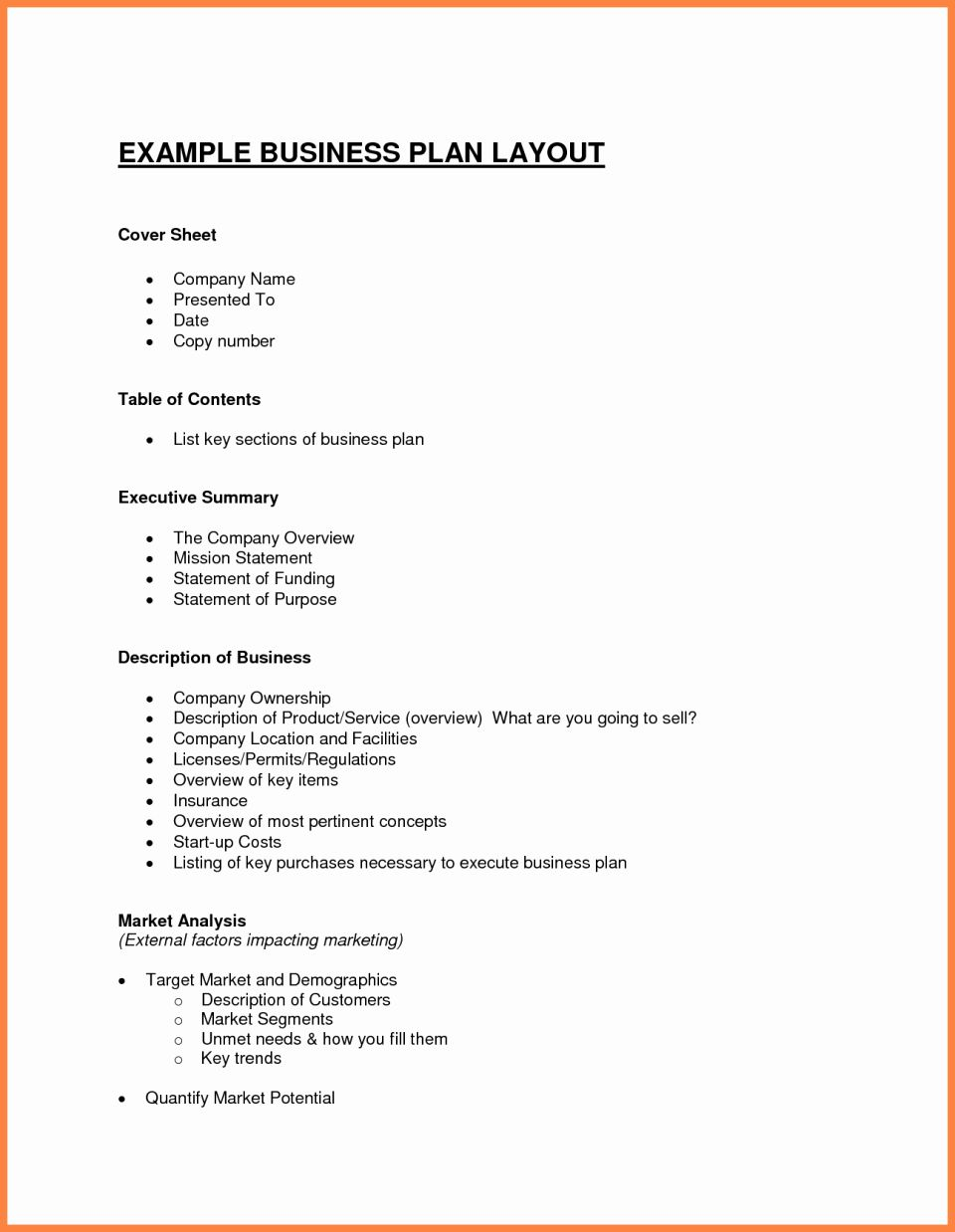 Physical Therapy Business Plan Template In 2020 With Images
