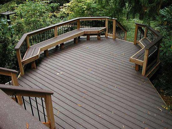 Veranda Decking Prices Building A Deck Deck Building Cost Outdoor Living Deck