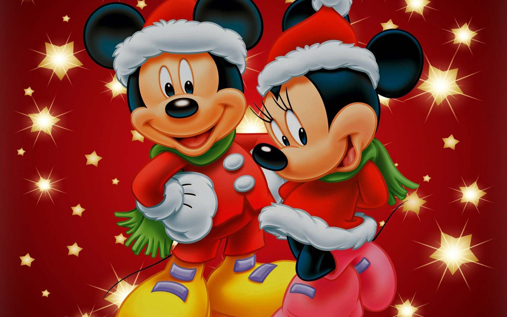 mickey mouse merry christmas wallpaper images pictures becuo - Merry Christmas Mickey Mouse