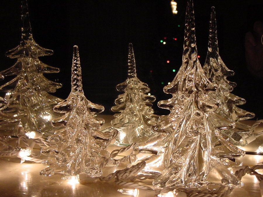 crystal christmas trees by ox3artdeviantartcom - Crystal Christmas Tree