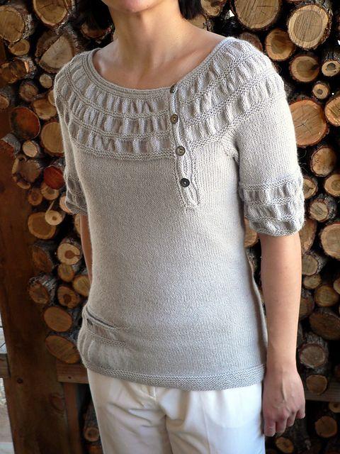 maglione maniche corte
