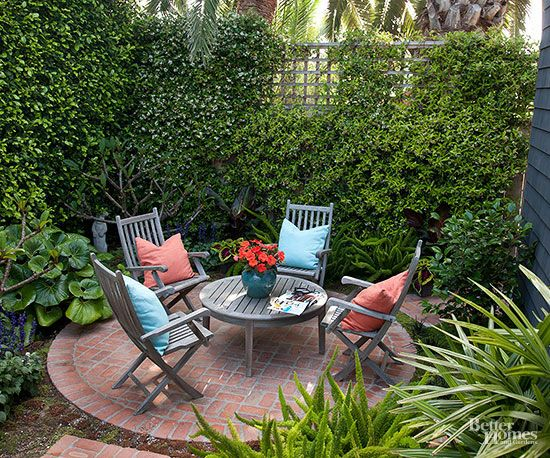 Cómo maximizar tu pequeño patio Patios, Maximize space and Small patio