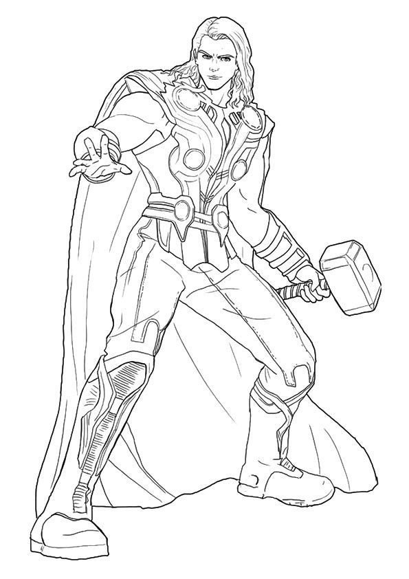 Print Coloring Image Momjunction Avengers Coloring Pages
