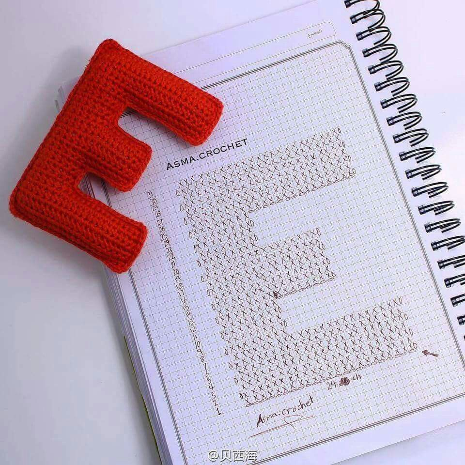 Pin de trish dean en crochet | Pinterest | Letras y Bebe