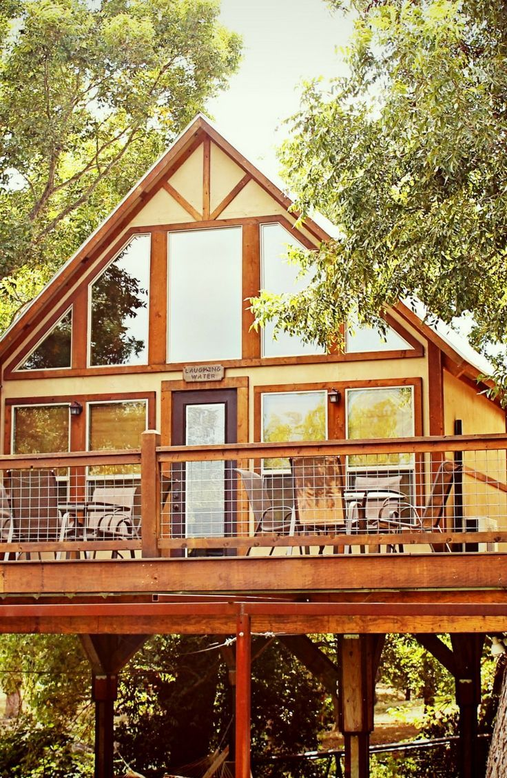 Discover this beautiful tree house in new braunfels texas