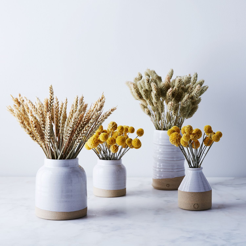 Handmade Ceramic Vase Dried Floral Arrangement Handmade Ceramics Vase Farmhouse Pottery Handmade Home
