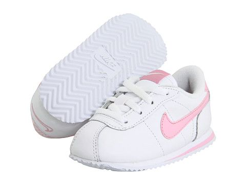 ddc364d59 Nike Kids Cortez  07 (Infant Toddler) White Perfect Pink - Zappos.com Free  Shipping BOTH Ways. For my lil girl