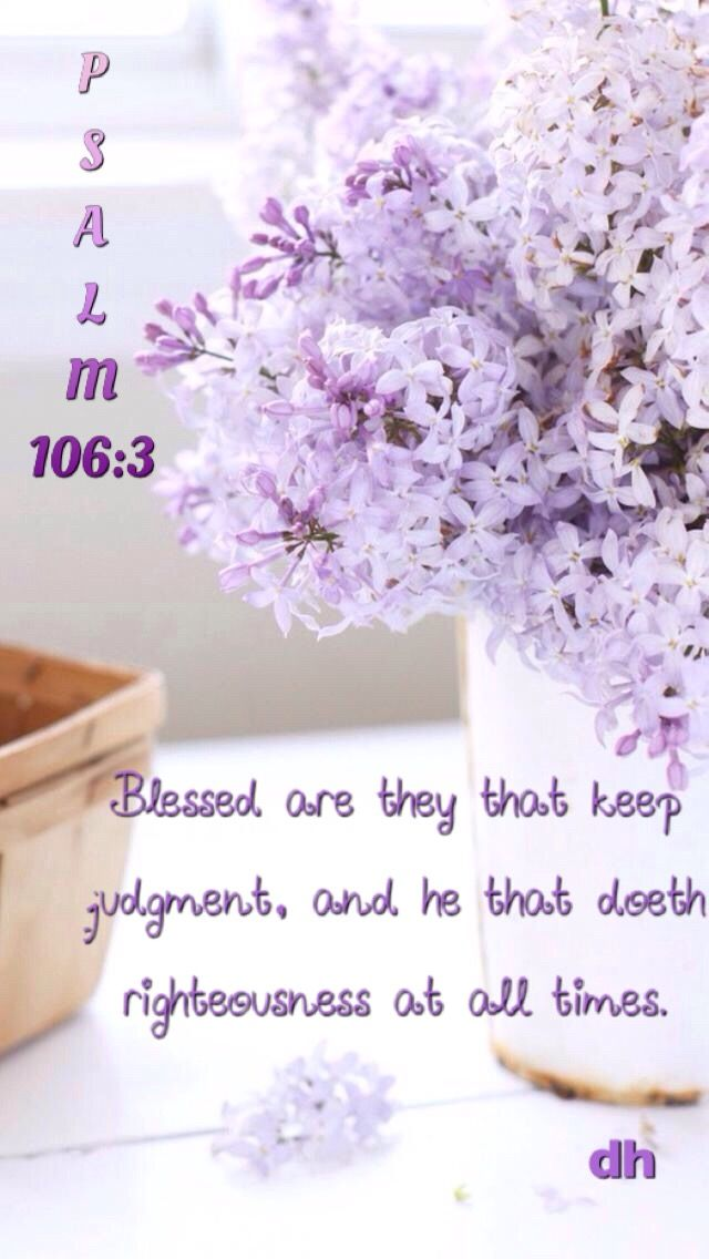 Psalm 1063) Blessed are they that keep judgment, and he that doeth - last will and testament form