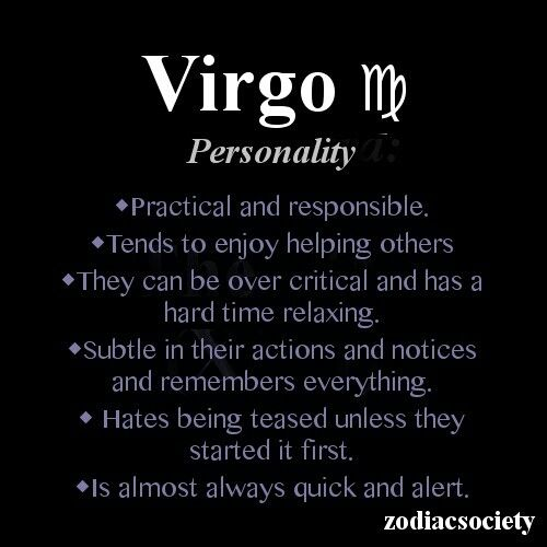 The Virgo Zodiac Signs Pinterest Virgo Astrologia And Signos