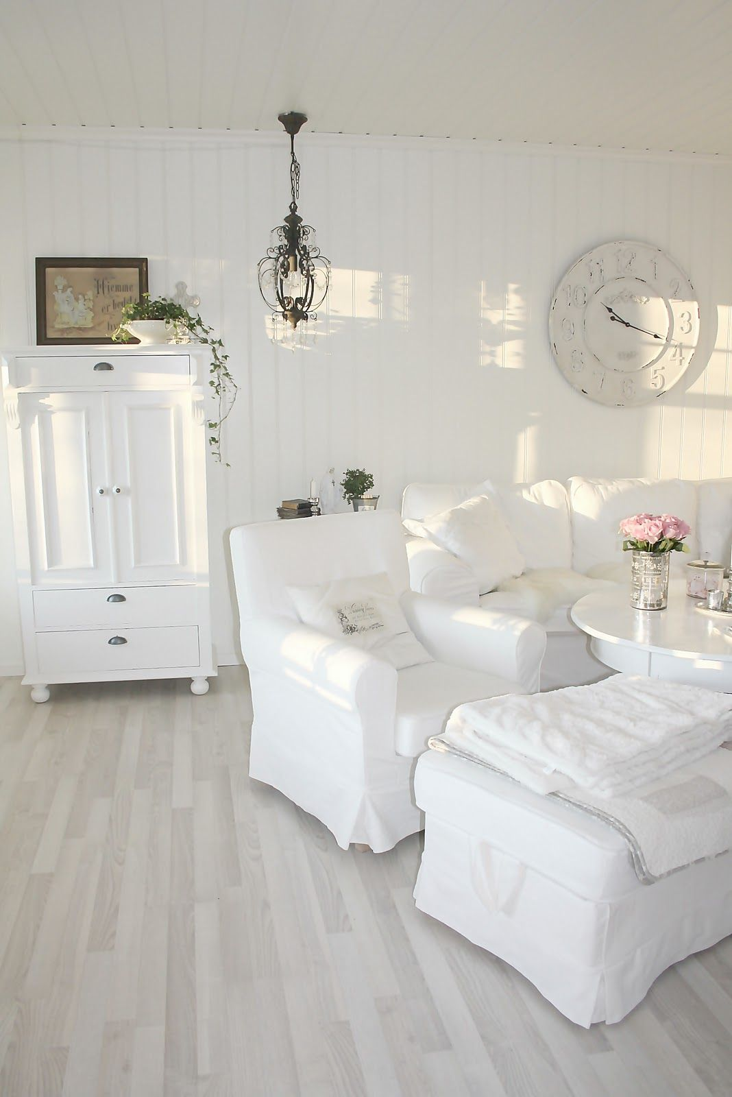 Salon Shabby Chic Pin By Astrid Carlucci On Shabby Chic White Pinterest