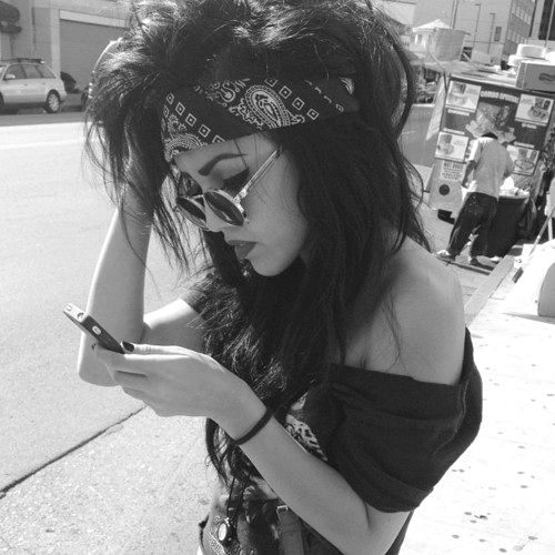 Rock N Roll Girl Hairstyles : That hair! beauty hair today gone tomorrow pinterest rock
