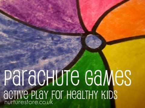 Parachute games: fun active play ideas for healthy kids