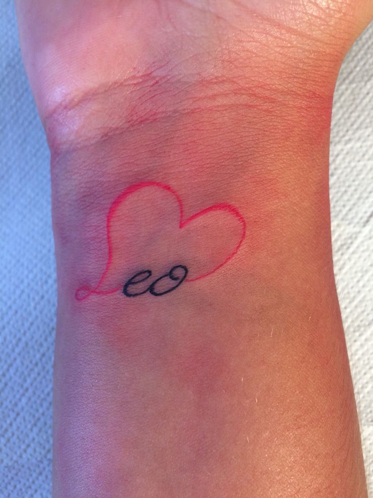 download free leo love tattoo to use and take to your