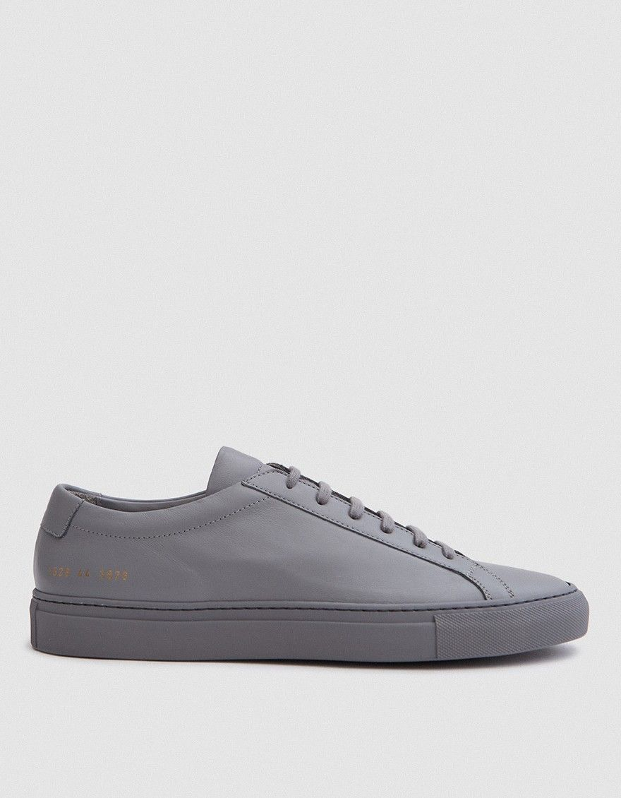 1cd4092538b7 Common Projects   Original Achilles Low in Medium Grey
