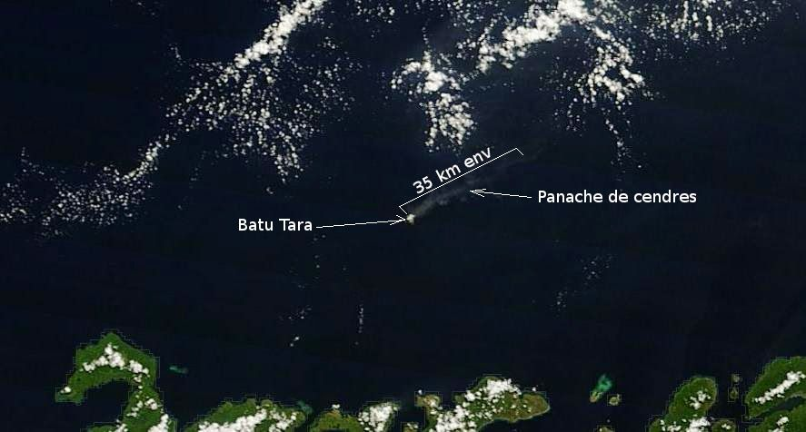 Volcanic activity worldwide 29 Apr 2014: Batu Tara, Ahyi, Santa María / Santiaguito, Fuego, Popocat