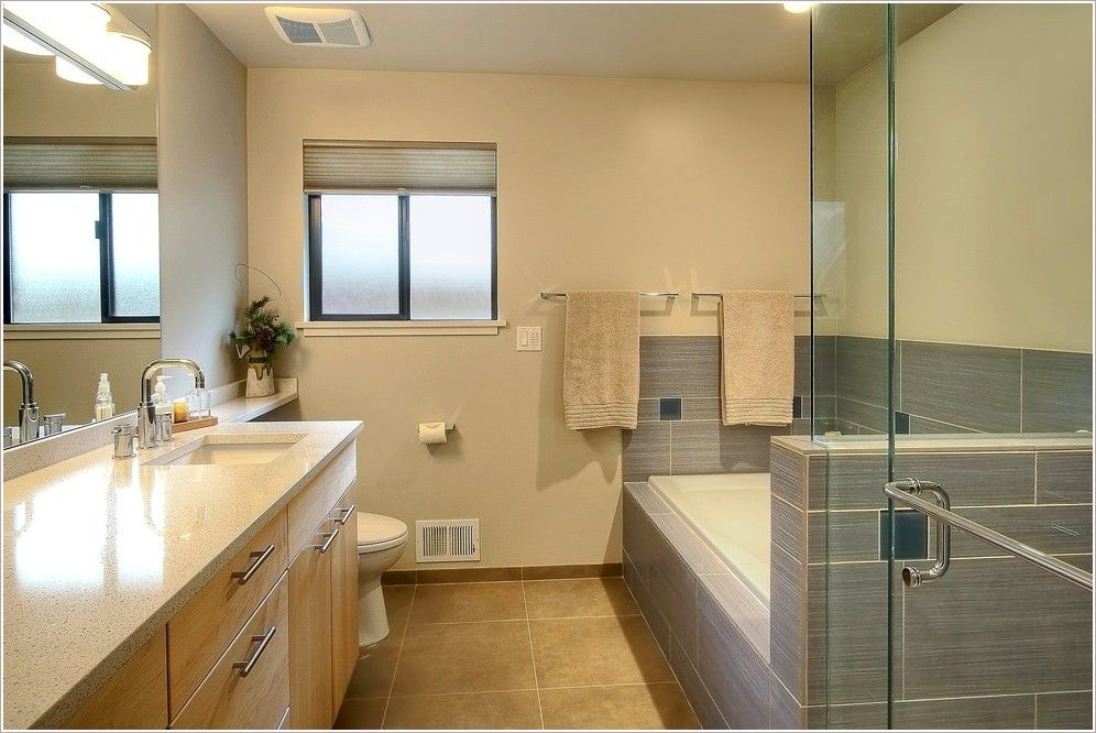 bathroom grey tile tub surround ideas - Google Search | bathroom ...