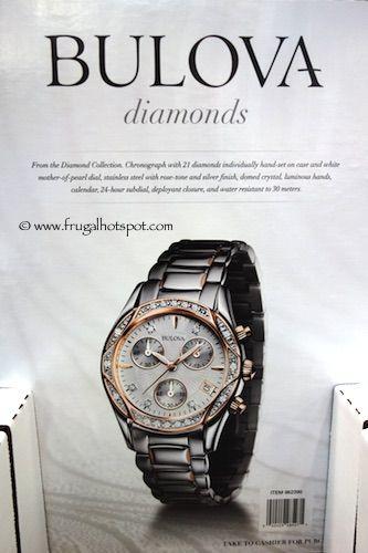 bulova diamonds ladies two tone rose chronograph watch lovely bulova diamonds ladies two tone rose chronograph watch lovely costco frugalhotspot
