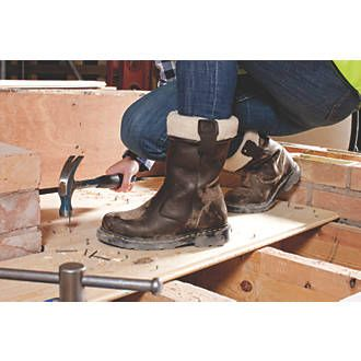 476827f31 Dr Martens Rosa Ladies Safety Rigger Boots Teak Size 6 | Rigger Boots |  Screwfix.