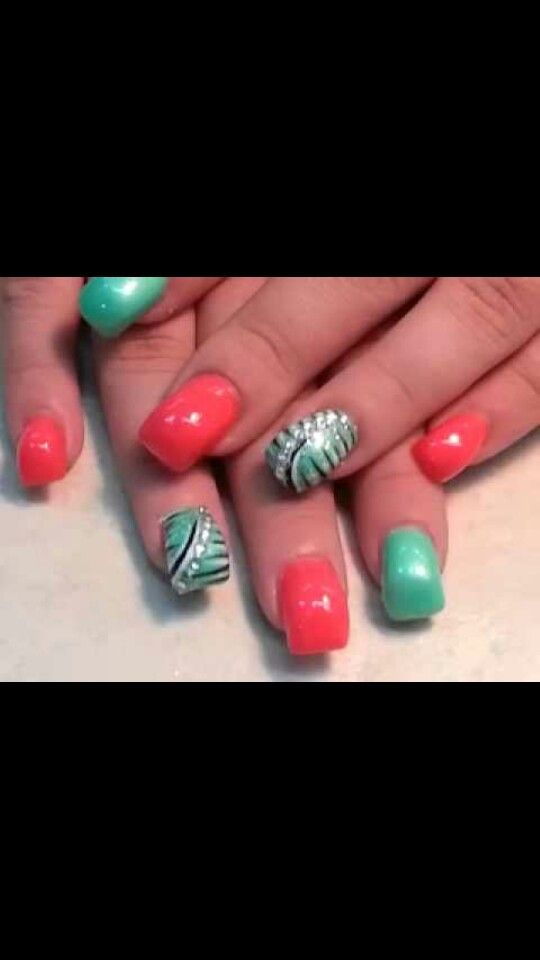 Curved nails | extreme nails | Pinterest | Curved nails, Pedicures ...