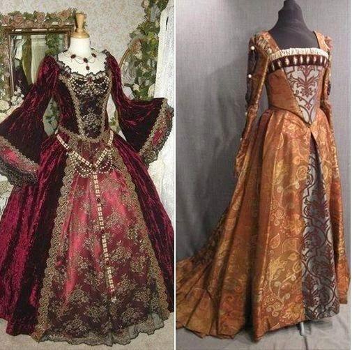 trajes renacentistas.