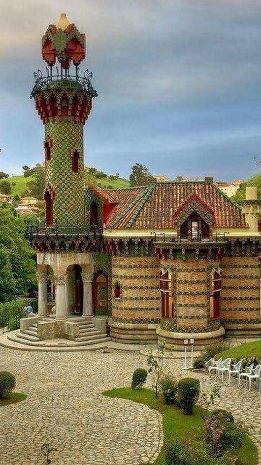 El Capricho de Gaudí - Cantabria, Spain