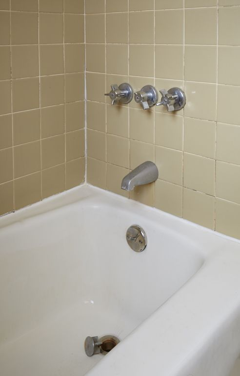 Before Outdated Tile For An Equally Outdated Tub Learn