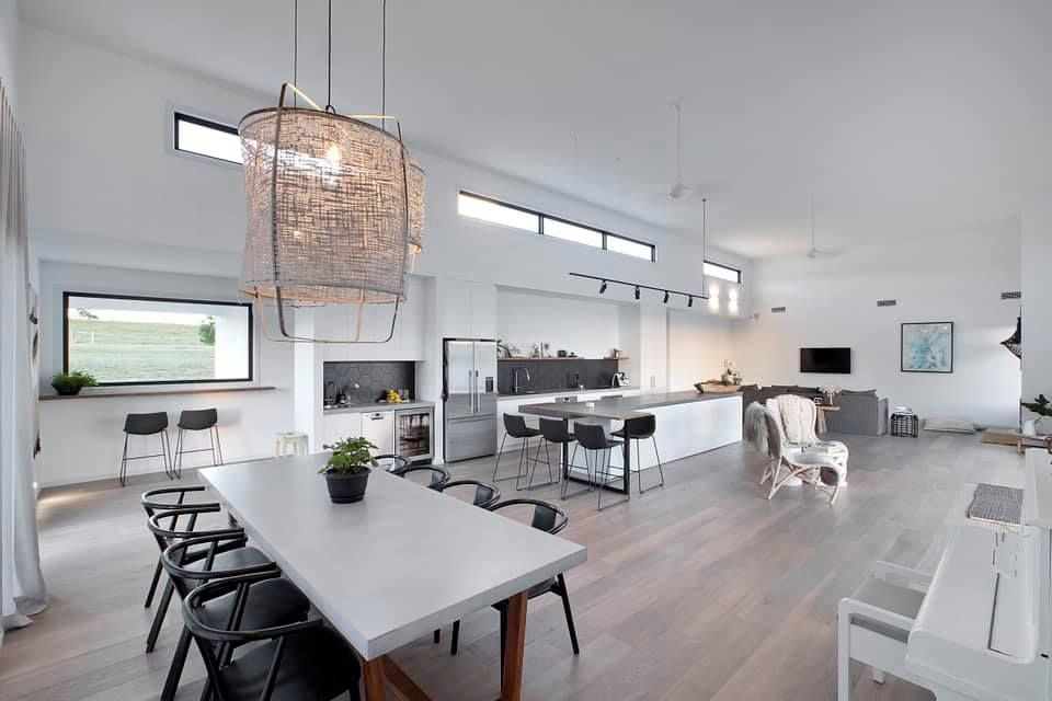 We are loving the abundance of space created by this open floor plan. Built by the G.J. Gardner team by Ballina.