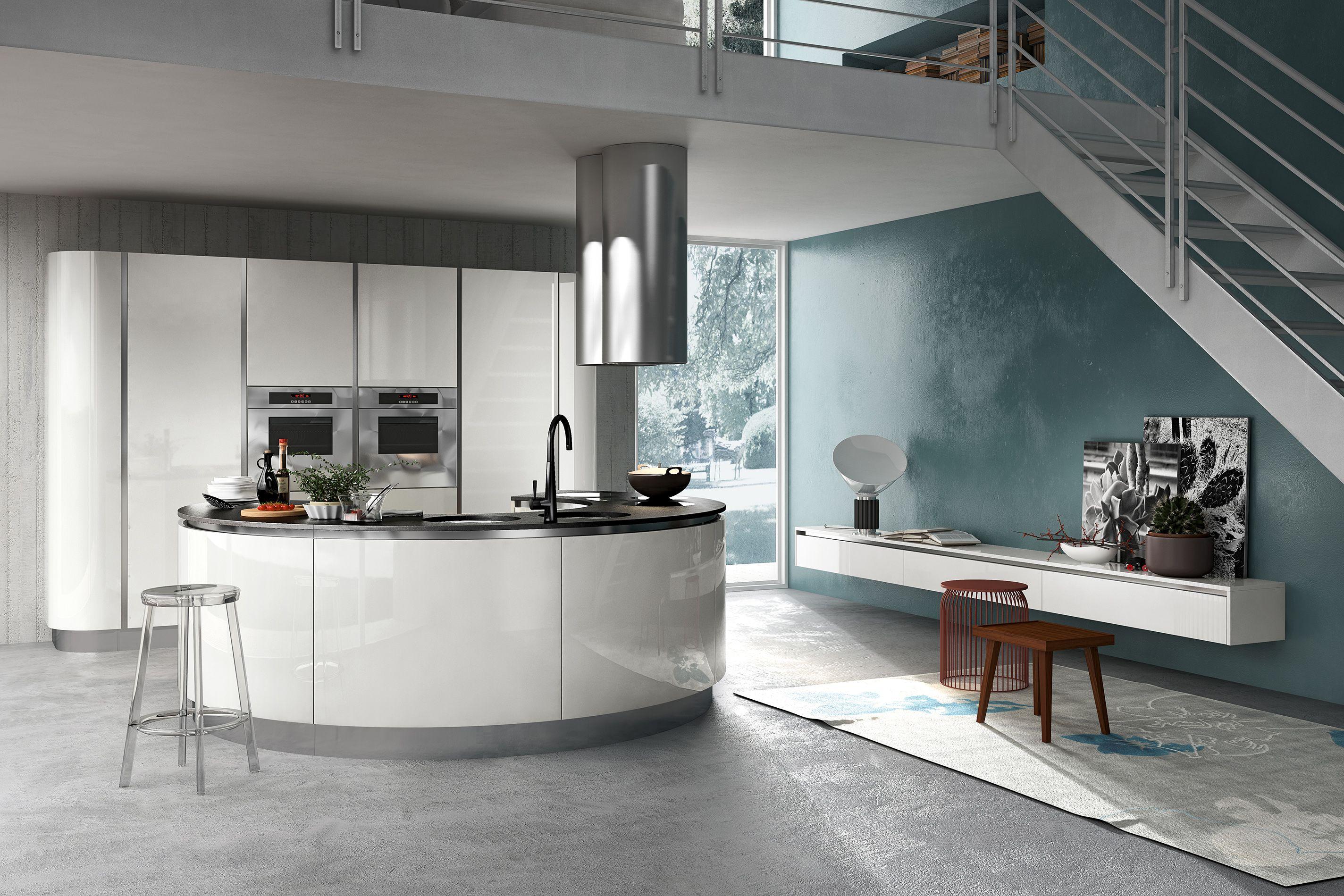Armony Cucine Model Sigma Cuisine Design Moderne Ilot De Cuisine Rond Ilot De Cuisine Moderne