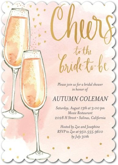 Cheery Fizz Shower Wedding Invitations From Paper Divas Get A 20