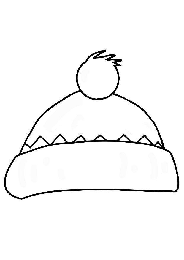 Bonnet coloriage pinterest coloriage coloriage - Dessin de bonnet ...