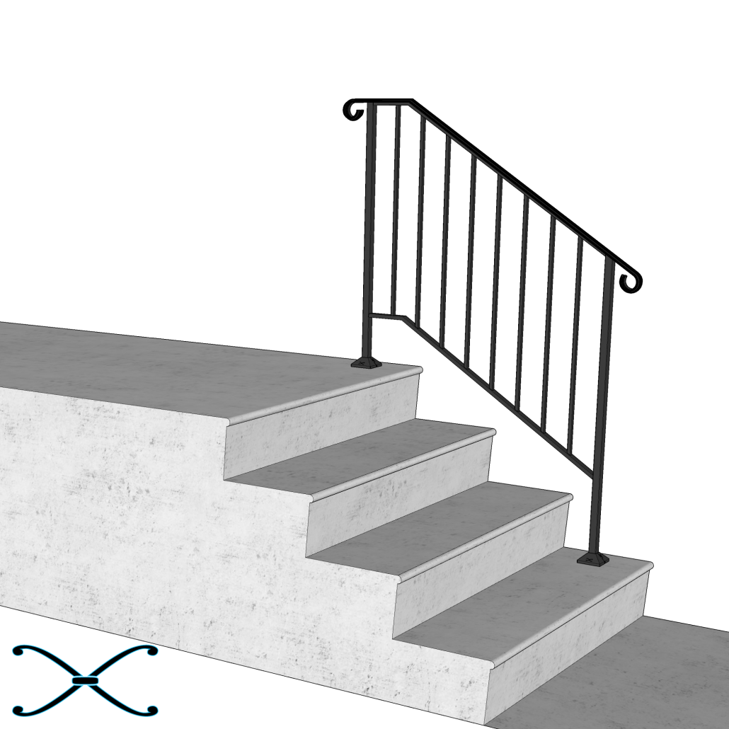 Best Diy Handrail Strongest Most Reliable Do It Yourself 400 x 300