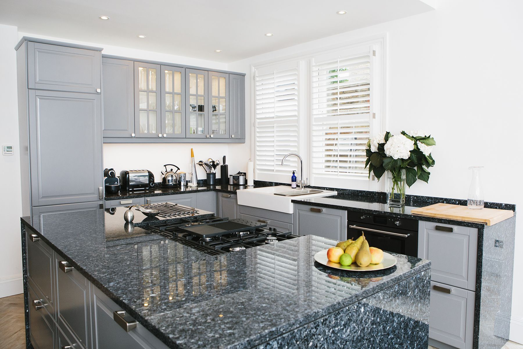 It's hard to believe these grey kitchen are from
