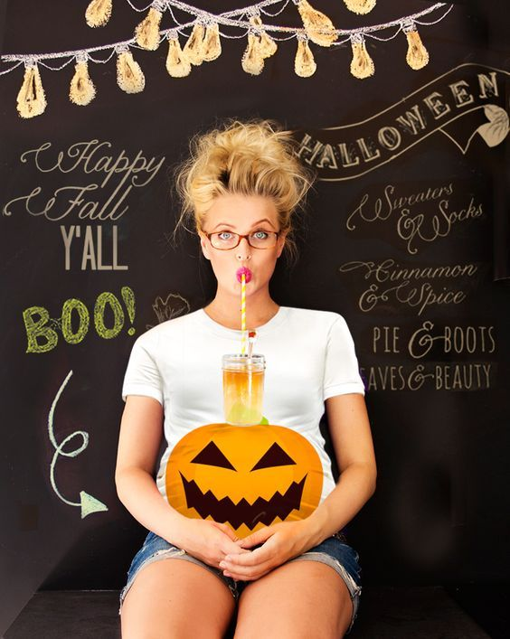 Maternity Halloween Shirts for Expected Mothers Halloween