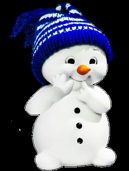 Snehuliak, Zimné, Obrázok
