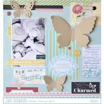 Prachtige scrapbooklayout gemaakt met de Carta Bella So Noted Paper Pad Collection Kit 12X12 nu bij www.scrobby.nl voor de laagste prijs!