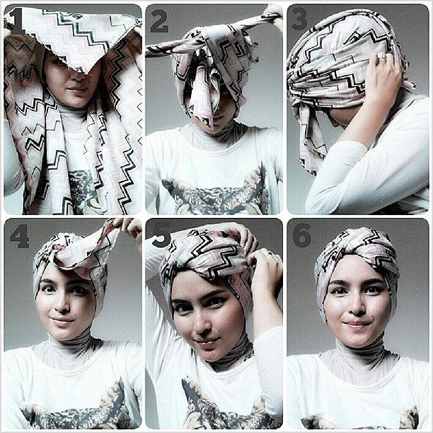 another simple turban tutorial