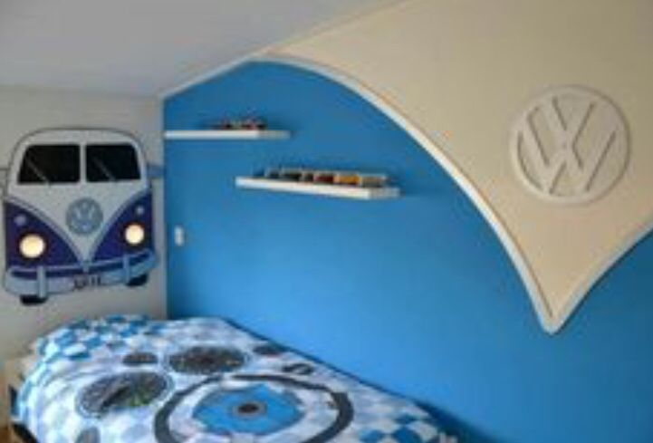 Astounding Volkswagen Inspired Room In 2019 Vw Bus Volkswagen Bus Squirreltailoven Fun Painted Chair Ideas Images Squirreltailovenorg